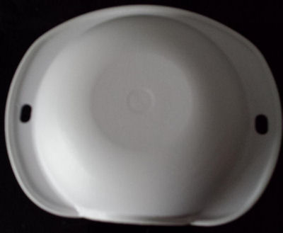 A Stoma protector - a hardened cap to protect against knocks